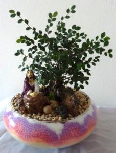 Garden of Gethsemane (round bowl)